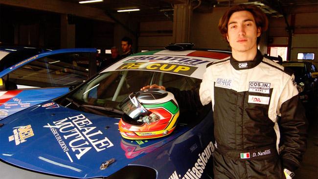 Nardilli con la Melatini Racing nella RS Cup