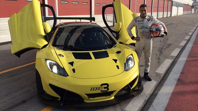 Primo test con la McLaren positivo per Mancinelli