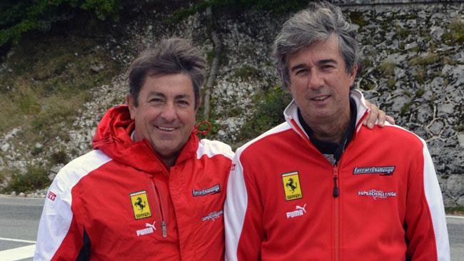 Evoluzioni in arrivo per le Ferrari della Superchallenge