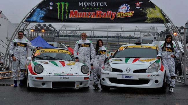 Quattro vincitori del Rally Italia Talent al via a Monza