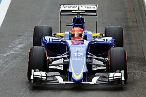 Formule 1 Conférence de presse Nasr -