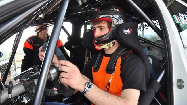 Scandola salta sulla Peugeot al Rally di Como