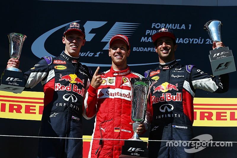 Vettel s'impose au terme d'une course folle et égale Senna