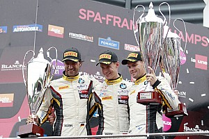 Blancpain Endurance Race report Marc VDS win 24 Hours of Spa
