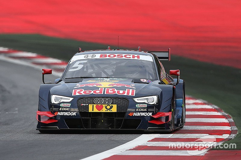 Spielberg DTM: Ekstrom on pole in wet Sunday qualifying