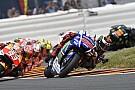 Lorenzo comemora os quatro pontos tirados de Rossi