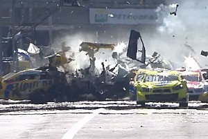 Stock Car Brasil Breaking news Multi-millionaire Camilo returns after huge crash – video