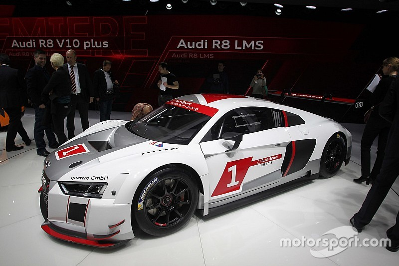 2016 Audi R8 LMS GT3 ready for the IMSA GT Daytona class