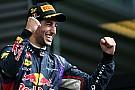 Ricciardo, vainqueur à Spa en 2014 avec des réglages Monza!