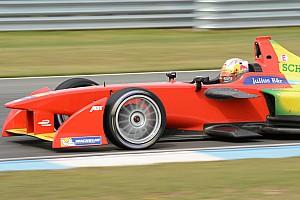Formula E Testing report Abt smashes Donington lap record in qualifying simulation