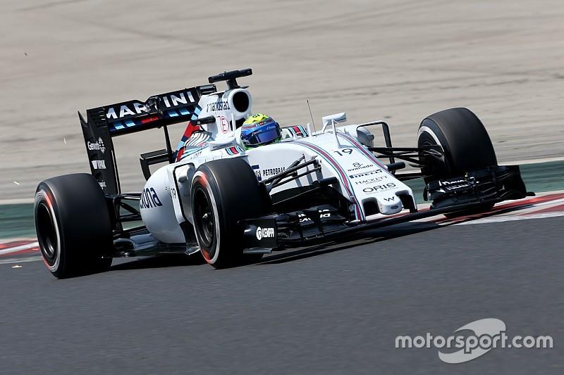 Em pista boa para Williams, Massa espera bom resultado na Bélgica