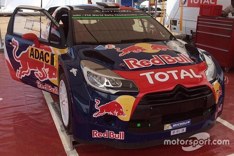 Nuova livrea per la DS3 WRC di Stéphane Lefebvre