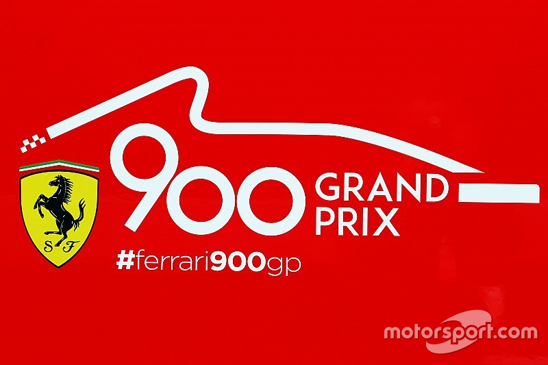 Ferrari: è questo il logo per festeggiare i 900 Gp