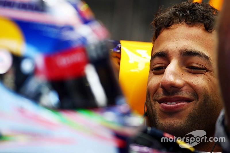 ريكاردو يأمل الصعود الى منصّة التّتويج في سباق بلجيكا