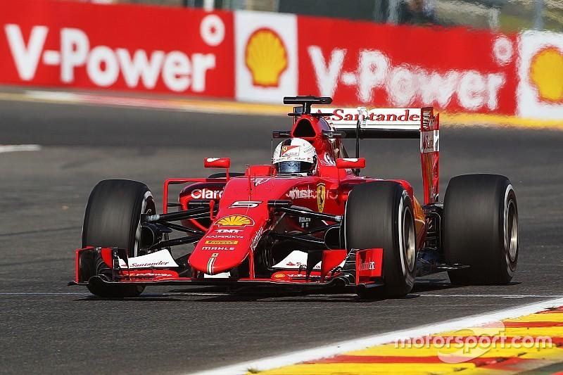 Vettel no se preocupa por el décimo sitio