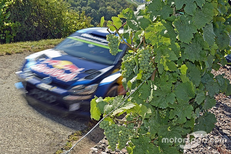 Germania, PS9: Ogier riparte subito forte
