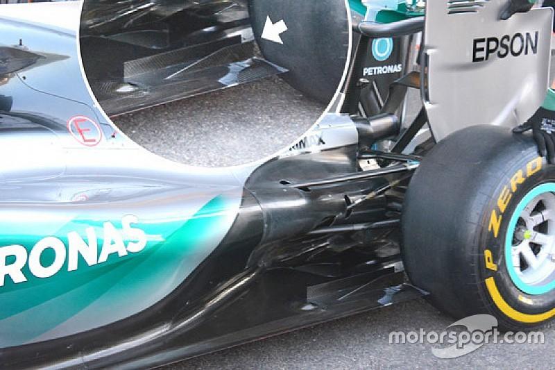 E' stata la pinna Mercedes a bucare la gomma Pirelli?