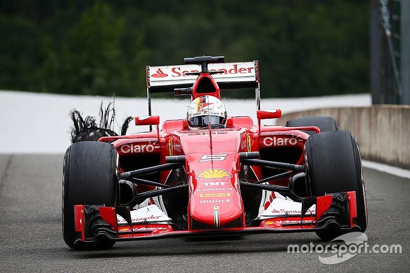 """Vettel et Pirelli - """"C'est inacceptable"""""""