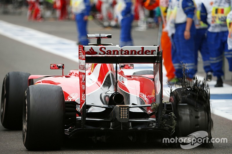 Ferrari and Pirelli set for talks after Vettel tyre failure