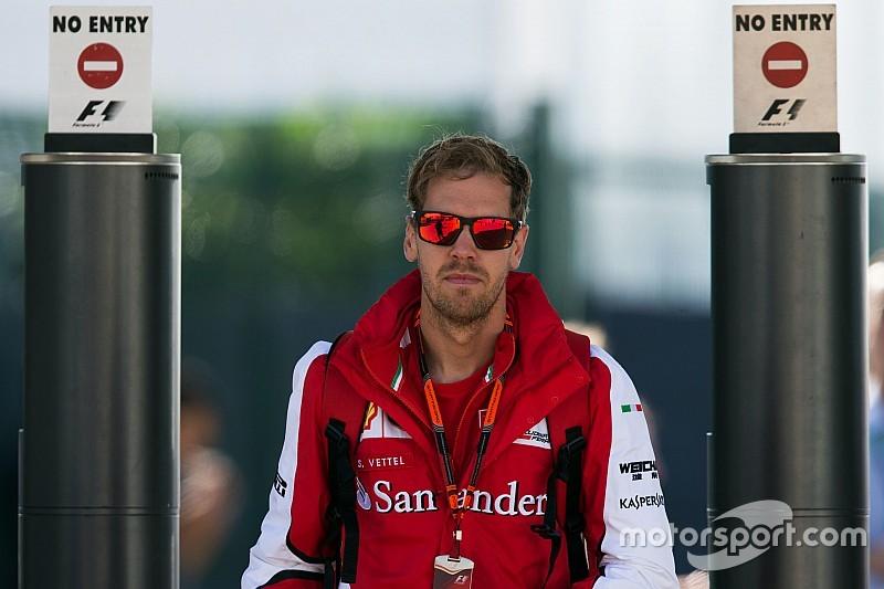 Vettel rompe el silencio desde su arrebato en el GP de Bélgica