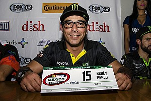 NASCAR Mexico Noticias de última hora Rubén Pardo está tranquilo previo al Desafío