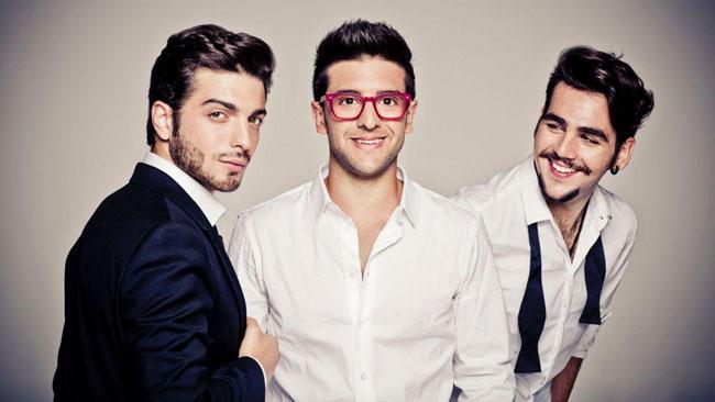 """""""Il Volo"""" a Monza per cantare l'Inno Italiano"""