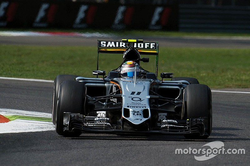 Sahara Force India enjoyed an encouraging first day of practice at Monza