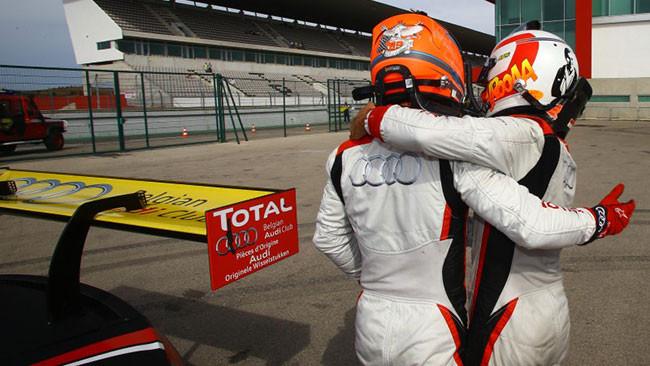 Mies porta l'Audi in pole position a Portimao
