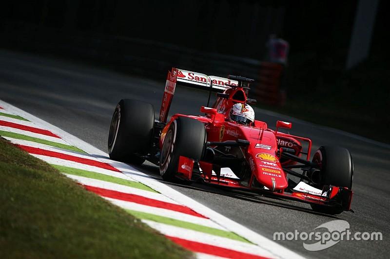 Vettel rêve d'un doublé Ferrari en course à Monza
