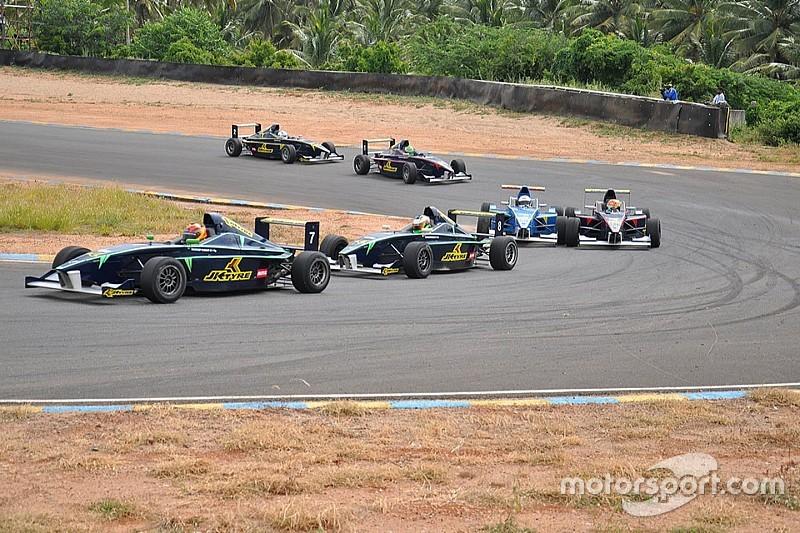 Mahadik takes his maiden JK Tyre win