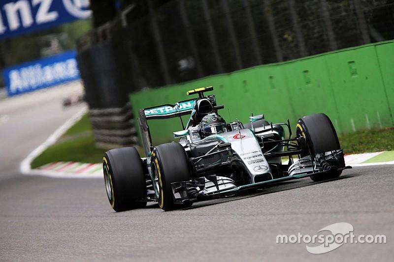 Rosberg: c'era una perdita di pressione al motore