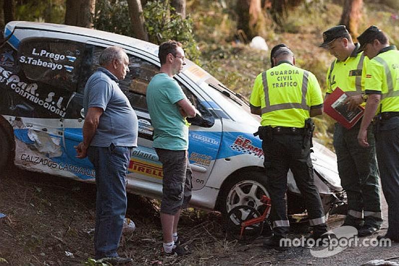 Miles despiden a los fallecidos del accidente en rally A Coruña