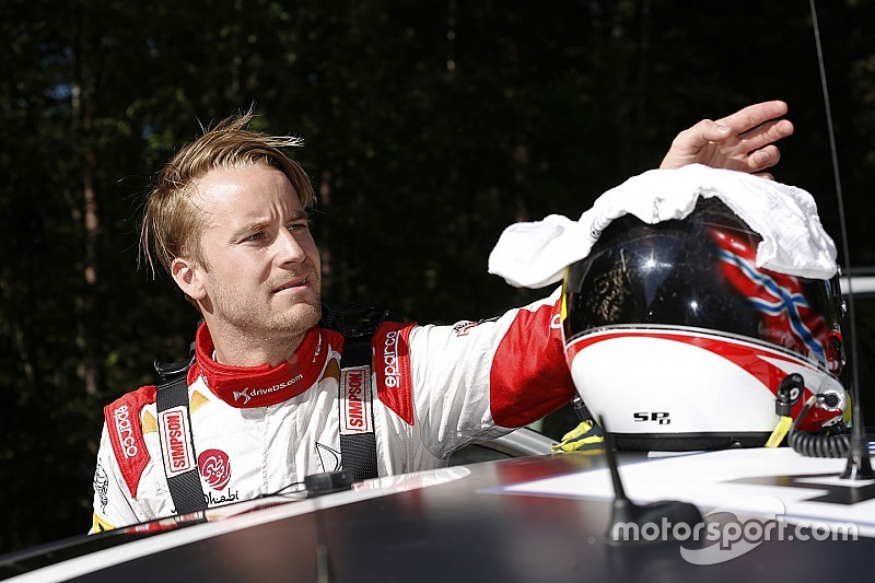 Ostberg escapes major injury after scary recce crash