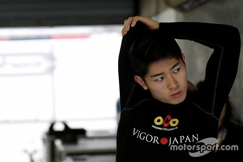 Yu Kanamaru chez Pons au Nürburgring