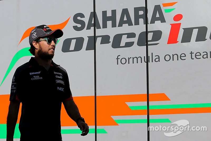 Force India: Perez announcement by Singapore