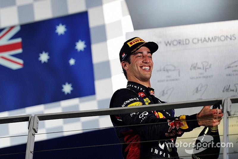 """Ricciardo - """"Surprenant ce qu'on peut faire à 4h du matin à Singapour!"""""""