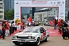 港京拉力赛30周年纪念行发车
