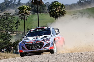 WRC Race report Hyundai Motorsport cements Championship position after strong Australian run