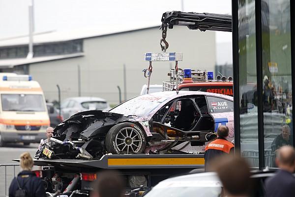 DTM Ауэр не пострадал в аварии