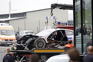 DTM Новость Ауэр не пострадал в аварии