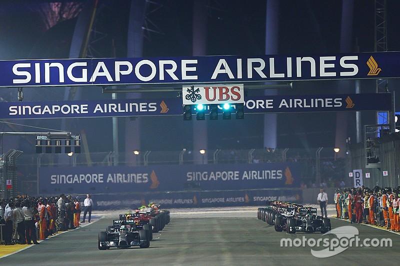 GP de Singapour - Le programme TV du week-end