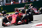 Raikkonen accepts poor Monza start was his fault