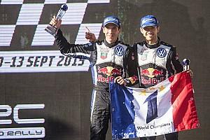 WRC 比赛报告 WRC澳大利亚站落幕 欧吉尔斩获第三个年度冠军