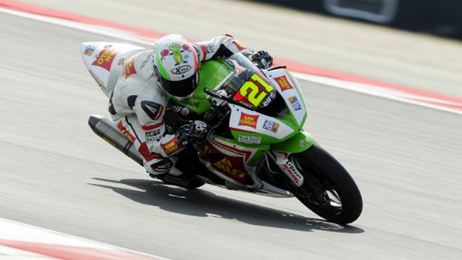 Jerez, Libere 1: doppietta tricolore con Rinaldi e Stirpe