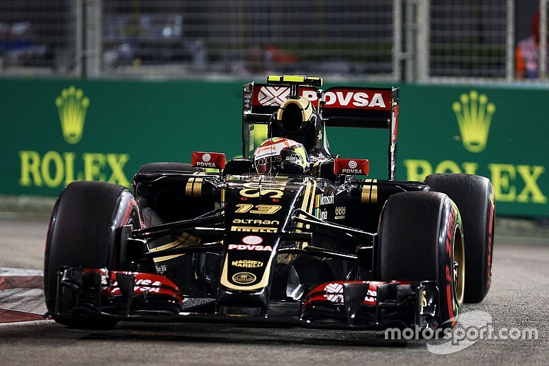Maldonado signe le 18e temps des qualifications