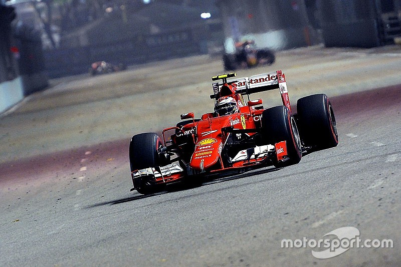 """Räikkönen """"surpris"""" par sa troisième place"""
