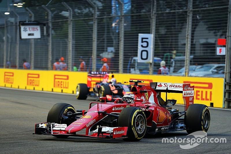 """Räikkönen - """"Aucune chance de rattraper les deux premiers"""""""
