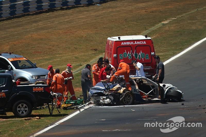 Pedro Piquet passa noite em hospital após grave acidente
