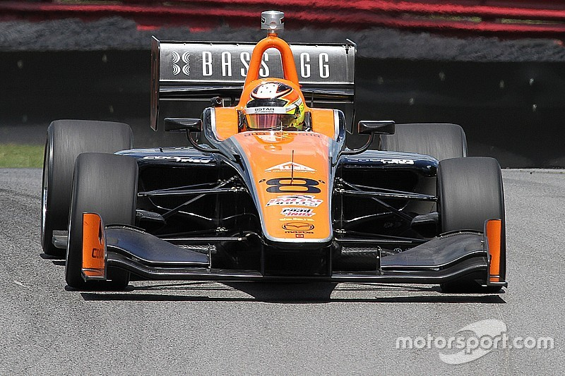 Rayhall trying to build a future in IndyCar