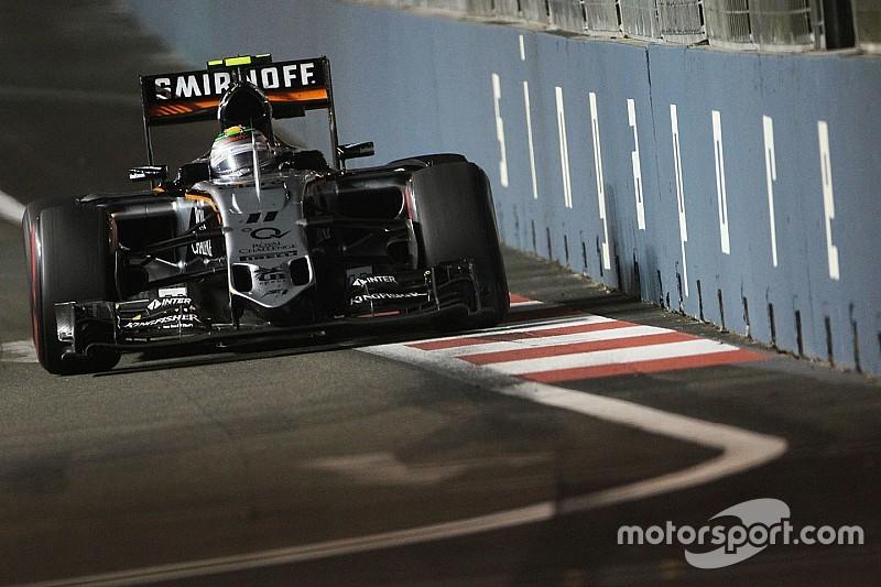 Sergio Pérez confirmé par Force India pour 2016